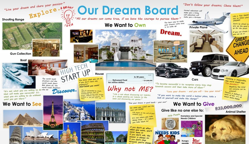dream vision board1