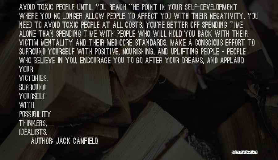 victim mentality quote by jack canfield 1940936